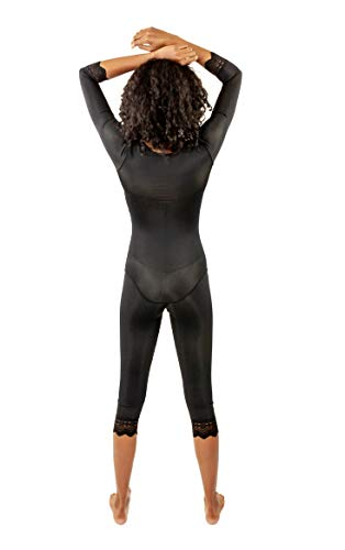 233a0eb2849 ContourMD Full Body Shaper for Women w Sleeves Mid Calf Compression  Garments Beige (28S