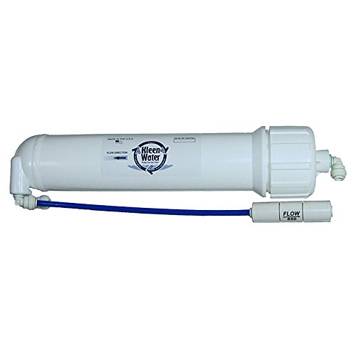 KleenWater Aqua-Pure AP5500RM Compatible Reverse Osmosis Membrane Module with Housing and Accessory Fittings