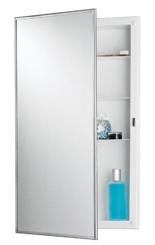 Jensen 781045 Builder Series Framed Medicine Cabinet, 16-Inch by 26-Inch by 3-3/4-Inch by Jensen