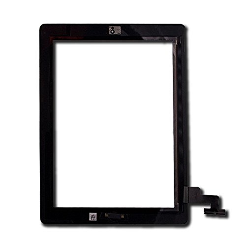 Touch Screen Digitizer for Apple iPad 2 - A+ - Black - Includes Small Parts by Group Vertical