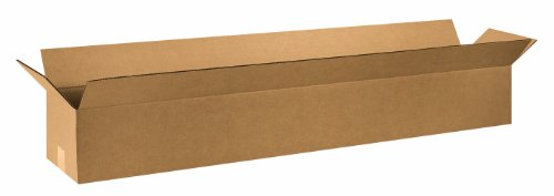 Box 48in (Aviditi 4866 Long Corrugated Box, 48