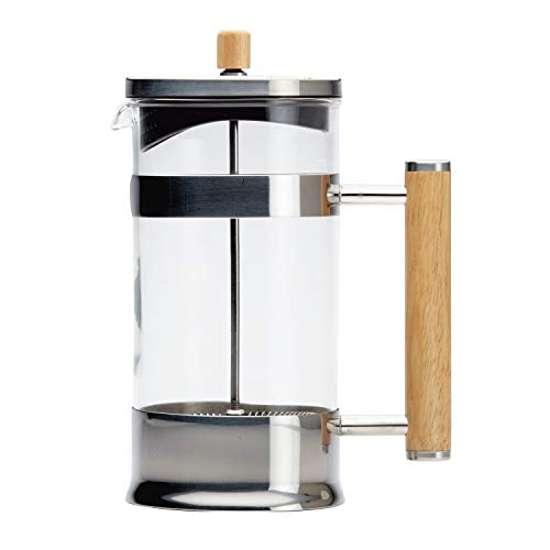 Ayesha Collection Coffee & Tea Glass French Press, 8-Cup