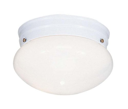 Livex Lighting 7002-03 Flush Mount with Opal Glass Shades, - Mount 03 Ceiling White