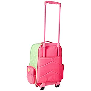 Stephen Joseph Classic Rolling Luggage, Butterfly