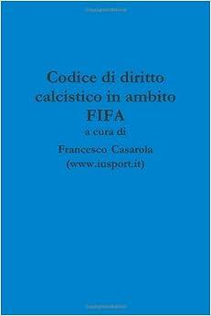 Codice di diritto calcistico in ambito Fifa