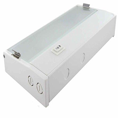 Xenon Low Voltage Under Cabinet Task Light - Nora Lighting 32 Inch White ()