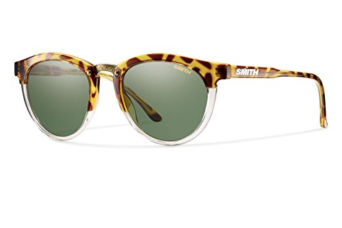 Smith Optics Carbonic Questa Sunglass, Amber Tortoise, Gray