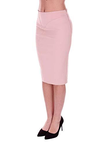 Viscose Femme Jupe Rose Pinko 1B12UW6197Q35 8t177