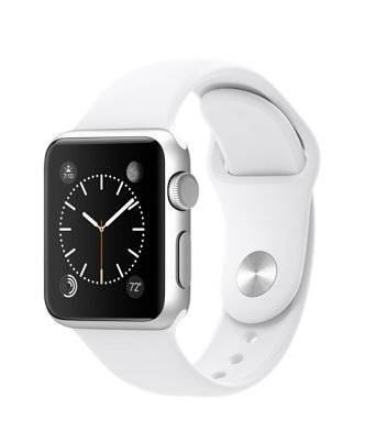 Apple Smartwatch Sport 42mm Silver Aluminium Case White Sport Band