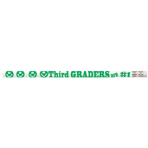 Third Graders are #1 Pencils (box of 12) - 3rd Graders
