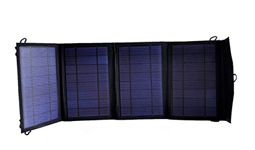 Instapark Mercury27 Portable & Foldable 27 Watts Solar Battery Charger with DC 12V Output