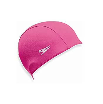 Speedo Polyester Junior Swimming Cap - Pink  Amazon.co.uk  Sports   Outdoors a51d40a626a5