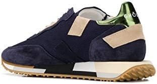 GHOUD Luxury Fashion Herren E10ERMLMMM12 Blau Wildleder Sneakers | Frühling Sommer 20