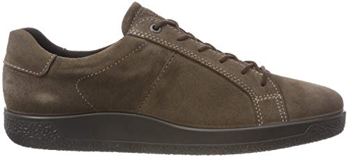 Clay Dark Braun Sneaker Men's Soft 1 5559 Ecco Herren FSqw0