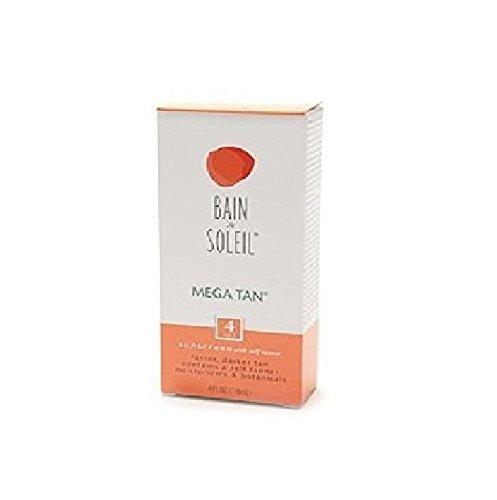 Bain de Soleil Mega Tan Sunscreen With Self Tanner, SPF 4 4 fl oz (118 ml) by AB by AB