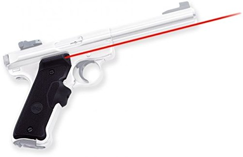 Crimson Trace LG-403 Lasergrips Red Laser Sight Grips for Ruger MKII and MKIII Pistols by Crimson Trace