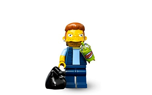 LEGO Simpsons Minifigure - Snake (Jailbird) with slushee