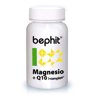 MAGNESIO + CO-ENZIMA Q10 BEPHIT - 60 cápsulas 470 mg: Amazon.es ...