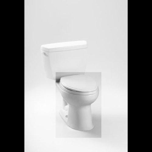 Toto C744e 01 Drake Elongated Bowl Cotton White