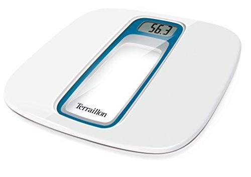 Terraillon Window Blue Silver Electronic Bathroom Scale, Aut