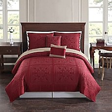 Baroque Tile Reversible Quilt set (4) piece Twin