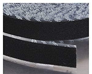 Velcro Brand, 191195, Reclosable Fastener, Loop, 2x25 Yd, Black by VELCRO Brand