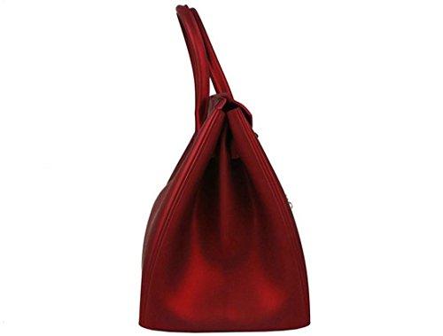 colore Di Pvc Tracolla Crossbody Beige Wting Donna Kelly Nero Verde Colore Borsa Solido Rosso Marrone Rosso In YxfPxZ1w