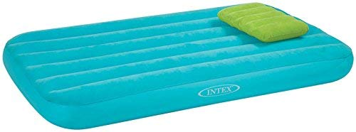 Intex Cozy Kidz Airbed w/Inflatable Pillow, Teal