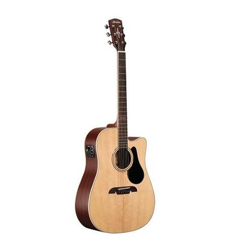 s AD60CE Dreadnought Acoustic - Electric Guitar, Natural/Gloss Finish ()
