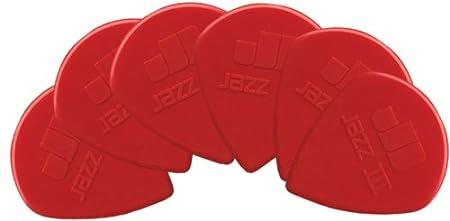 Dunlop Jazz Nylon Plectrums 6 Pack 47P3N