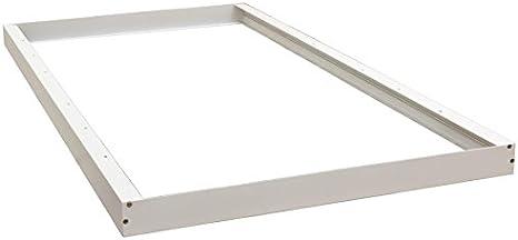 Dynamics Surface Mount Kit For 2x4 Ft Led Troffer Flat Panel Drop Ceiling Light Amazon Com