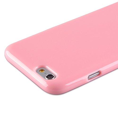 deinPhone iPhone 6 Plus Silikon Case Hülle Rosa