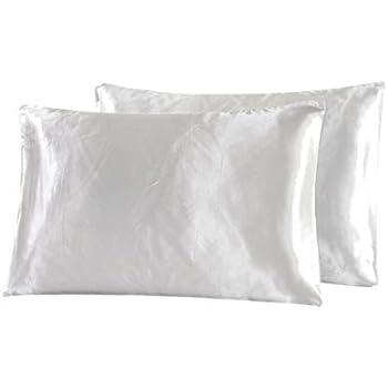 Amazon Com Vonty Luxury Silky Satin Pillowcases For Hair