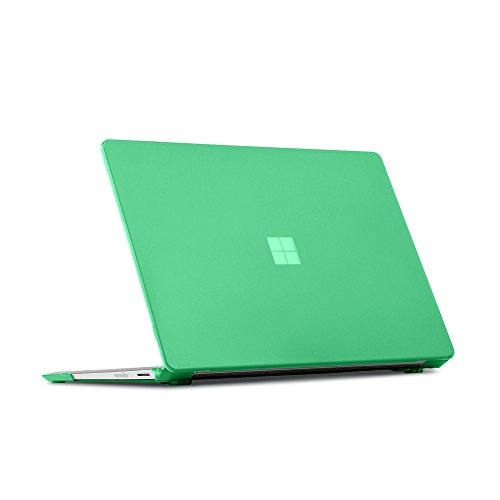iPearl mCover Hard Shell Case for 13.5-inch Microsoft Surface Laptop Computer (NOT Compatible with Surface Book and Tablet) (Green)