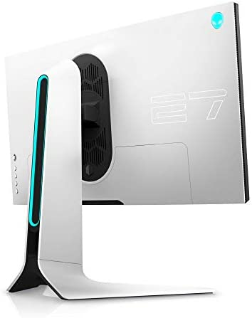Alienware 27 Gaming Monitor - AW2721D (Latest Model) - 240Hz, 27-inch QHD, Fast IPS Monitor with VESA DisplayHDR 600, NVIDIA G-SYNC Ultimate Certification and IPS Nano Color Technology, White, XW3CK