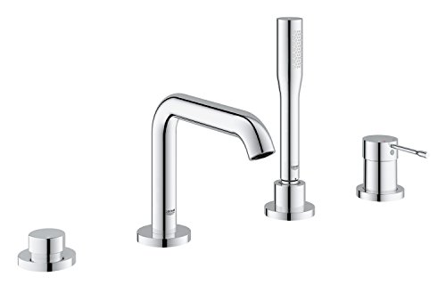 Essence New Roman Tub Filler With Personal Hand Shower
