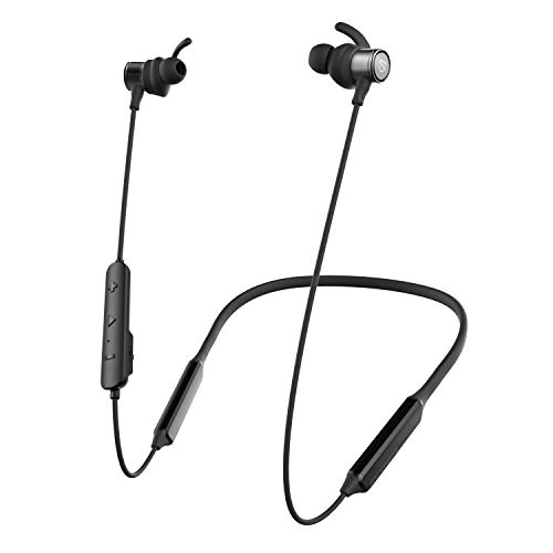 SOUNDPEATS Bluetooth Earphones, Force HD Wireless Neckband with Bluetooth 5.0 for Sports (30 Hours Playtime, APTX-HD, in-Ear Magnetic Earbuds, CVC)