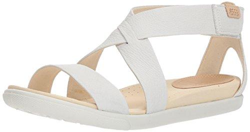 Ecco Sandalo Donna Damara Cinturino Bianco Casual