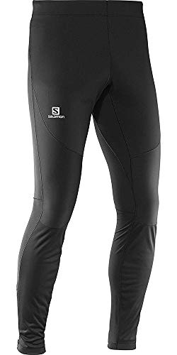 Salomon Men's Trail Runner WS Tight, Black, Large by Salomon (Image #8)