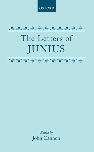 The Letters of Junius ( c OET  t Oxford English Texts) for sale  Delivered anywhere in USA