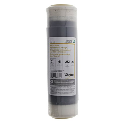 Whirlpool WHKF-GAC Undersink Water Filter Replacement Cartridge