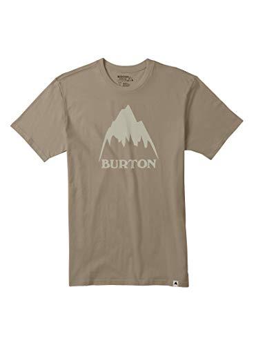 Burton Men's Classic Mountain High Short Sleeve Tee, Dune, Large