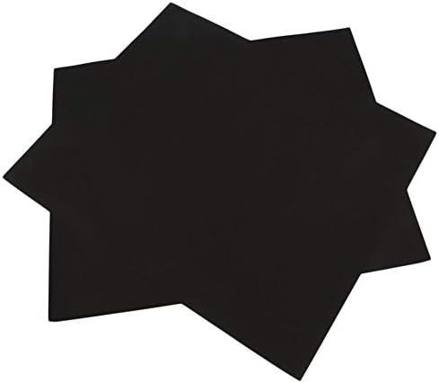 Mouchao4762 2 pcs réutilisable Surface antiadhésive Barbecue Grill Tapis Cuisson Facile Nettoyer Griller Noir