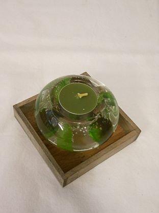 Olivenkerze im Glas Duftkerze Dekokerze Aromakerze Wellnesskerze