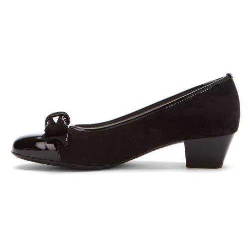 Escarpins Mirabella Femme Ara Noir Verni
