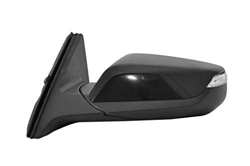Driver Side Power Operated & Heated Mirror With Signal With Matching Paint Fits 16-18 Malibu Premier Model - Manual Folding - Parts Link #: GM1320540