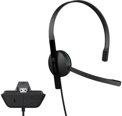 Microsoft Xbox One Chat Headset Monoaural Diadema Negro Auricular ...