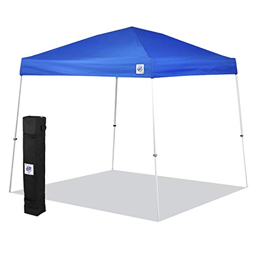 E-Z UP SR9104BL Sierra II 10 by 10-Feet Canopy, Blue (Best Easy Up Canopy)