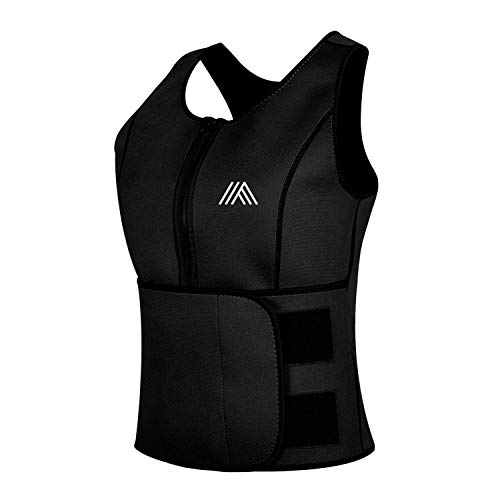 fb29e5aba6 Waist Trimmer Vest for Women Weight Loss Sweet Sweat Sauna Suit Body Ab  Trainer