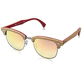 Ray-Ban Men's 0RB3016M Clubmaster Sunglasses